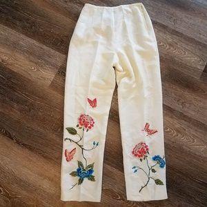 Yves Cossette Depeche Mode Vintage Silk Pants 6